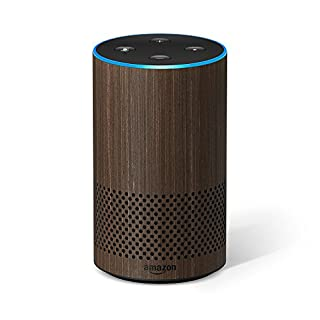 Amazon Echo (2nd Gen) - Smart speaker with Alexa - Walnut Finish