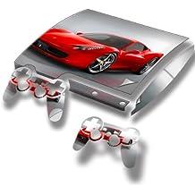 Virano - Pegatina para PlayStation 3 Slim, diseño de coches de colección varios modelos disponibles Voitures 10110 PS3 Slim Full Body Skin