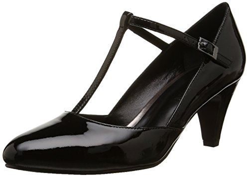 Jb Martin - 2Sarabi, Sandalo Con Tacco da donna, nero (veau vernis light noir), 38