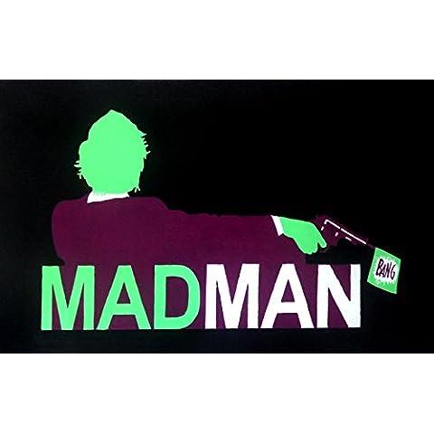 Joker Mad Men Mash Up 20x 14dipinto a olio su tela ma Box Framing disponibili su richiesta, si prega di contattarci via email per dettagli. Molti Altri Joker, disponibile anche come qualsiasi dimensione Desideri. Si prega di contattarci via email per dettagli. - Framing Olio Su Tela