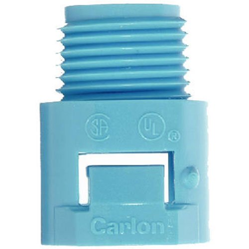 THOMAS & BETTS 3/4-Inch ENT Blue Smurf Male Adapter (3/4 Zoll-bett)