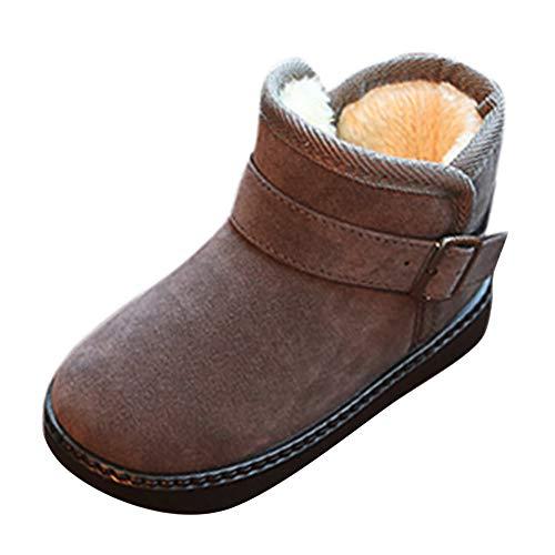 (Beikoard Baby Kinder Kinder Winter Schnee Stiefel und Samt Rutschfeste Stiefel warme Schuhe Schuhe Freizeitschuhe)