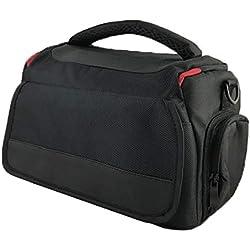 Camera Bag Housse pour Canon EOS 80d 100d 750d 700d 1200d 1300d 5d (Noir)