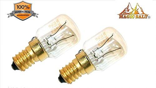 Natürliche Salz Lampe Himallayan Salt Lamp Luft Luftreiniger Premier Kristall 2 x 15 Watt Birne (Natürliches Wohlbefinden)