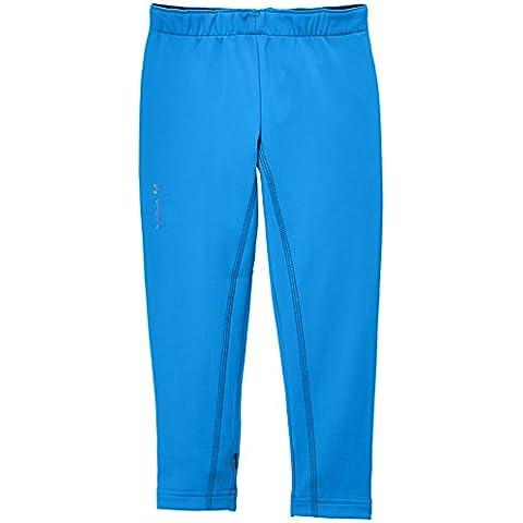VAUDE Niños Pantalones Jerboa Mallas, otoño/invierno, infantil, color Azul - azul, tamaño 6 años (116 cm) [DE