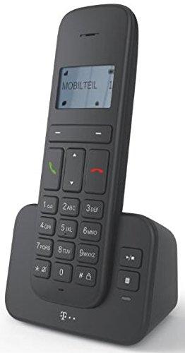 """Sinus 40316577 """"CA 37"""" Schnurlostelefon (Dot-Matrix-Display, Anrufbeantworter) anthrazit"""
