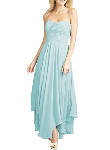 AZBRO Damen Spitze Prom Party Kleid Watermelon Red