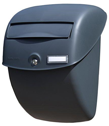 """Bobi Kunststoff-Briefkasten Bella, A-4 Einwurf-Format, Inkl. zwei Schlüssel und Namensfenster, entspricht den hohen Anforderungen der europäischen Norm """"EN 13724"""