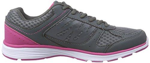 Champion Mystere, Chaussures de course femme Gris - Grau ('BLACKBOARD)