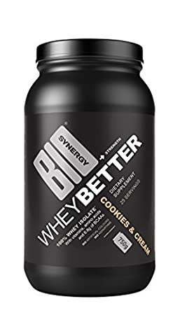 Bio-Synergy Cookies and Cream Whey Better Protein Powder Drink Mix 750g