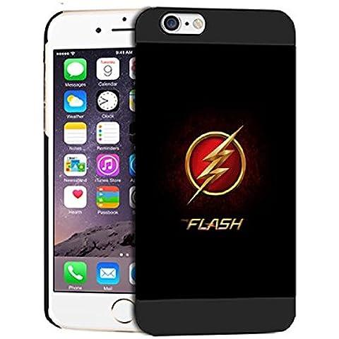 The Flash Logo Durevole Iphone 6 / 6S (4.7 Inch) Case Cover For Uomini Iphone 6 (4.7 Inch) The Flash Logo - [ DC Comics ] Cabina telefonica CustodiaCase, The Flash Logo Durevole Custodia Protettiva