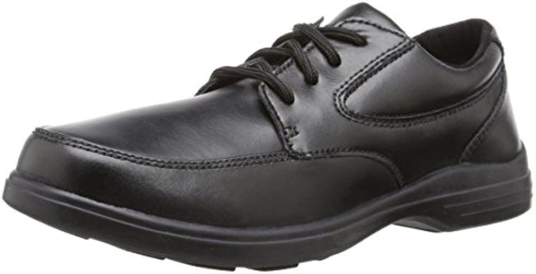 Hush Puppies TY Oxford Uniform Dress Shoe (Toddler/Little Kid/Big Kid)  Black  9.5 W US Toddler