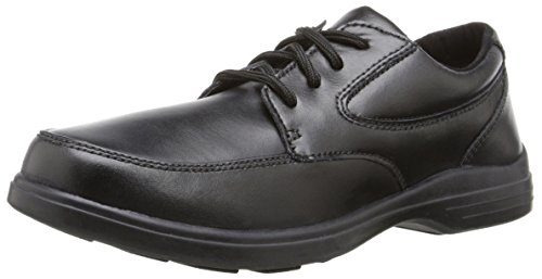 Hush Puppies TY Oxford Uniform Dress Shoe (Toddler/Little Kid/Big Kid), Black, 13 W US Little Kid (Hush Puppies Uniform Schuhe)