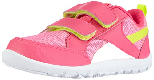 Reebok Ventureflex Chase Mädchen Sneakers Pink (Solar Pink/White/Solar Yellow)