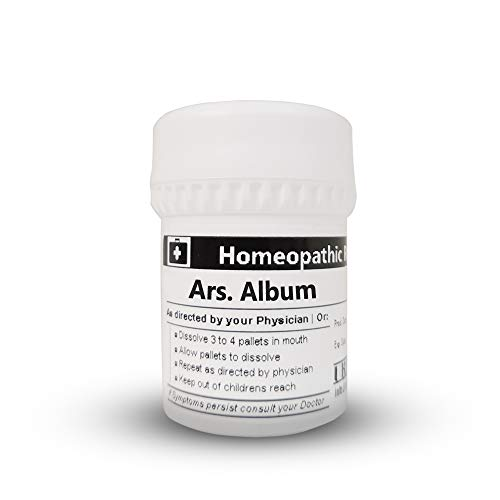Homeopathic Remedy 30c - Arsenicum album - 16 grams