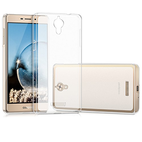 kwmobile Coolpad Modena 2 Hülle - Handyhülle für Coolpad Modena 2 - Handy Case in Transparent