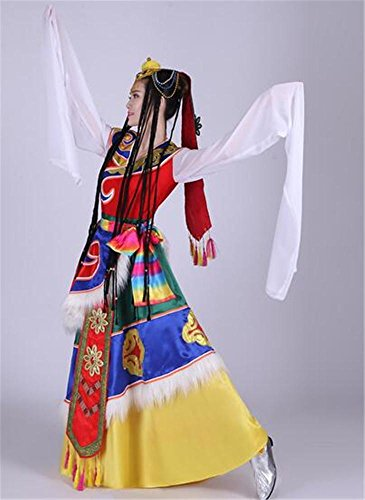 Tanz Folk Kostüme (Frauen Klassische Tanz Performance Kostüm / Folk Dance Show / Bühne Dance Show ,)