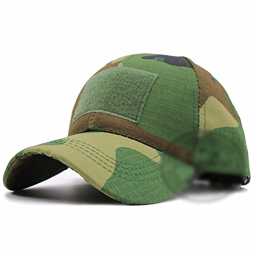 Digital Camo Special Force Tactical Operator Hut Auftragnehmer SWAT Baseball-Mütze Cap,Camo Dark Green