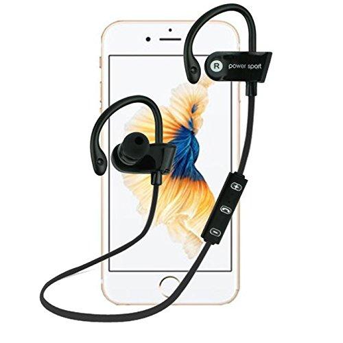 Headset/Headset Bluetooth elyseesen kabellos Haken Ohrstecker Bluetooth Stereo Kopfhörer Wasserdicht Sport -