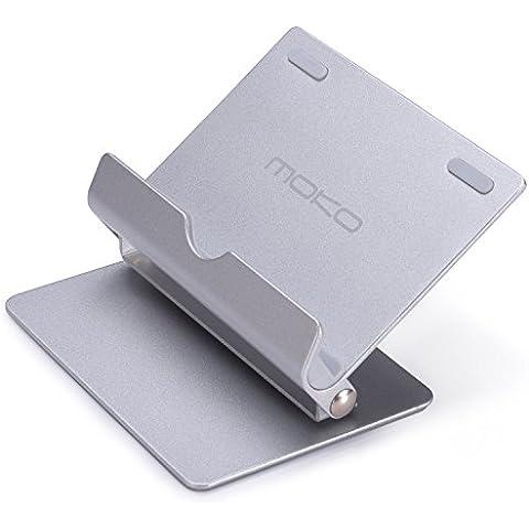 MoKo 360 Grado Multi-Angulo de Pliegue Hule Port¨¢tiles Tableta Soporte para Smartphones, Tabletas(7-10 Pulgadas) para iPhone 6/6s Plus, Galaxy S7, iPad Pro,