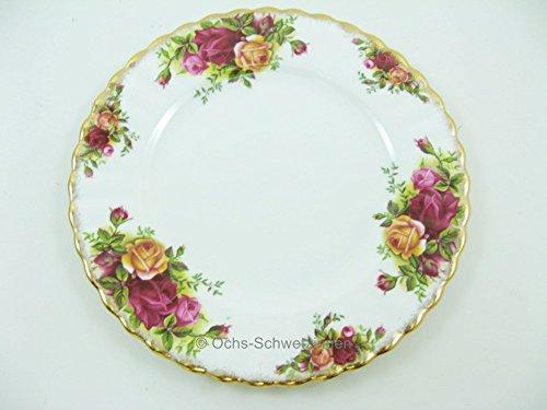 Royal Albert - Old Country Roses - Dessertteller - Ø ca. 18,3 cm Royal Albert Old Country Roses