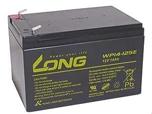 Batterie compatible gazon tracteur tondeuse à gazon 12V 14AH comme 12Ah 13Ah AGM plomb 15Ah