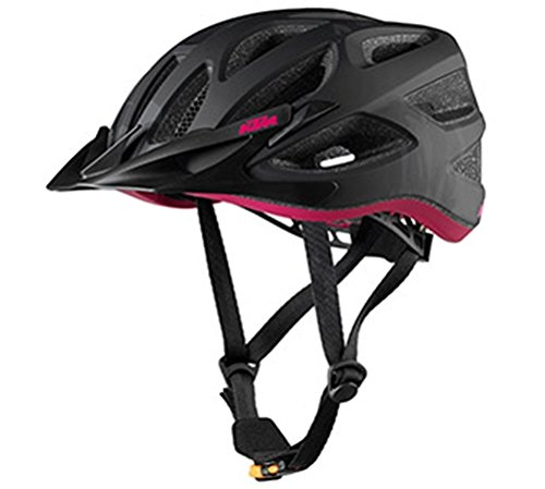 KTM Bike MTB Fahrrad Helm - LADY CHARACTER 2018 - Schwarz/Berry Gr. 54-58