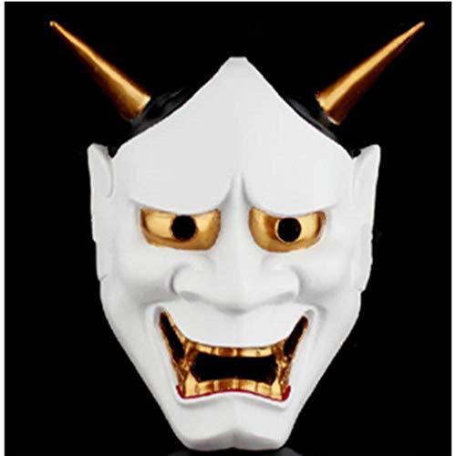 LKJH Maske Vintage Buddhistische Böse Maske Kostüm Horror Maske (Buddhistische Kostüm)