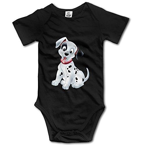 Kids 101dálmatas perro Bodies para bebé mono poco niños niñas 100% algodón -  negro -