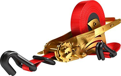 Kerbl 37188 Quickloader Automatikzurrgurt 1000/2000kg, Spitzhaken