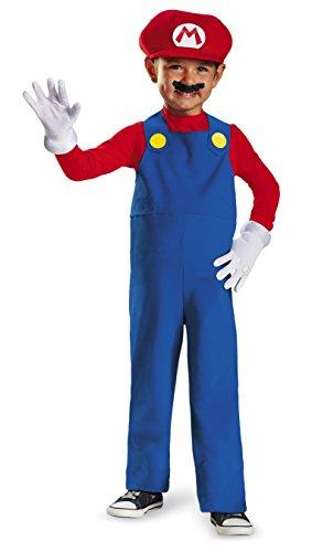 Mario Und Zeichen Kostüm Luigi - Generique - Super Mario Kinderkostüm