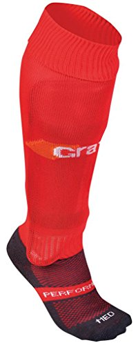 GRAYS G650Schuhe elastischer Knöchel und Fußgewölbe lang Länge Hockey Socke (Print-knöchel-socken)