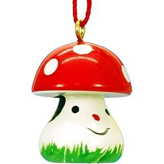 Alexander Taron Importer 13-0268 - Christian Ulbricht Ornament - Mushroom with Face - 1