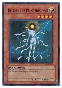 Yu-Gi-Oh.–Helios–Die Primordial Sonne (wc6-en002)–Weltmeisterschaft 2006Ultimate Masters–Promo Edition–Super Rare von Yu-Gi-Oh.