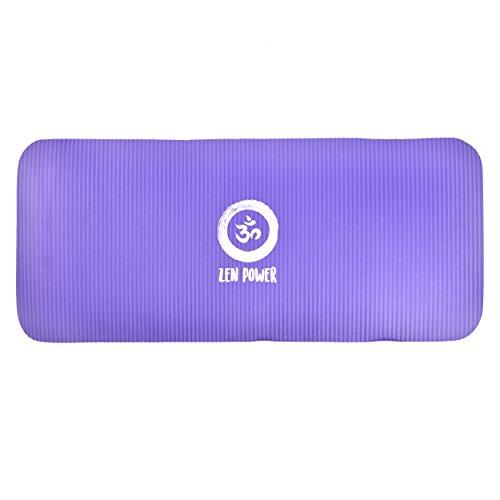 Extra dicke Knie-Schutzmatte, Knee-Pad für Yoga, 61x25x1,5cm, rutschfeste Kniematte aus hochwertigem NBR Schaum, Sitz-Kissen für Yoga Pilates Fitness Haushalt Garten und unterwegs