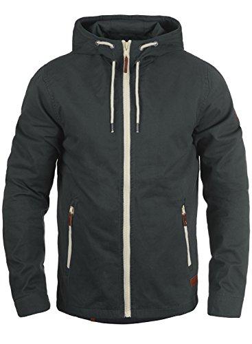 Blend Bobby Herren Übergangsjacke Herrenjacke Jacke Mit Kapuze Aus 100% Baumwolle, Größe:XL, Farbe:India Ink (70151)