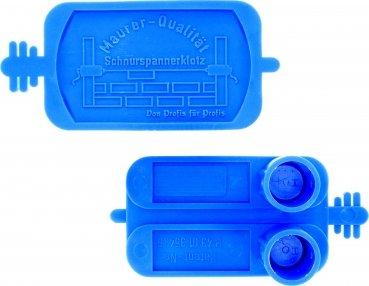 Triuso Cable tensor pastillas 2 Piezas de liberación rápida Maurerschnurr Cable Sujeción Bloque esquinas de machado Latón de Soporte de cable Albañil esquinas Retenedor de cable Cuerda albañil