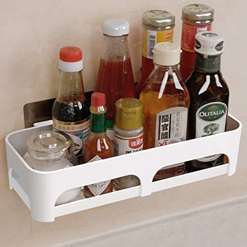 Kitchen furniture - Le poinçonnage libre de toilette de support de stockage de vanité d'étagère de salle de bains fixée au mur , 30 * 7cm WXP