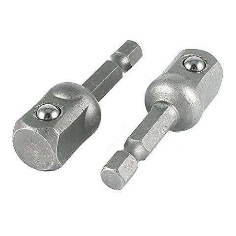 2 x Socket Adapter Set 1/4