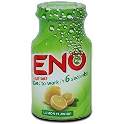 Eno Fruit Salt Lemon (100 g / 3. 50 oz) Antacid Powder