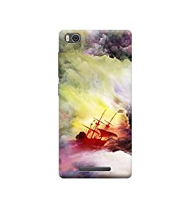 Ebby Premium Printed Back Case Cover With Full protection For Xiaomi Mi 4i (Designer Case)