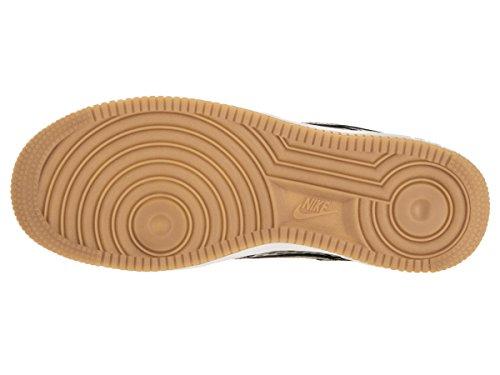 Nike - Wms Air Force 1 '07 Prm, Scarpe sportive Donna Black (Nero / Nero-Bianco Summit)