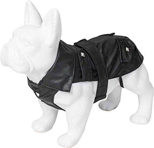 Karl Lagerfeld Haustiere Hunde Regenjacke, Winterjacke Für Winter Herbst Frühling, Farbe: Schwarz, Größe: 35