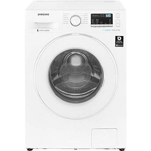 Samsung WD80M4B53IW B Rated Freestanding Washer Dryer - White