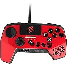 Mad Catz - Street Fighter V Fightpad Pro, Ken, Color Rojo
