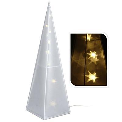 Pyramide 3D Hologram Leuchtsterne LED 43cm von Koop auf Lampenhans.de