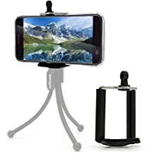 igadgitz Trípode, Monopie & Palos selfie Adaptador Soporte Teléfono Móvil para HTC 10, One X9, One A9, One M7, One M8, One M9, One Mini 2, One Mini, One X9