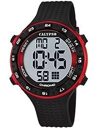 Calypso Watches K5663_4 - Reloj Digital Para Hombre, color LCD/Negro