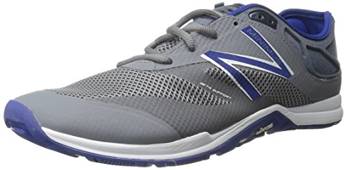 New Balance MX20MB5-Minimus Training, Sandalias Atléticas para Hombre, Multicolor (Grey/Blue 049), 40.5 EU