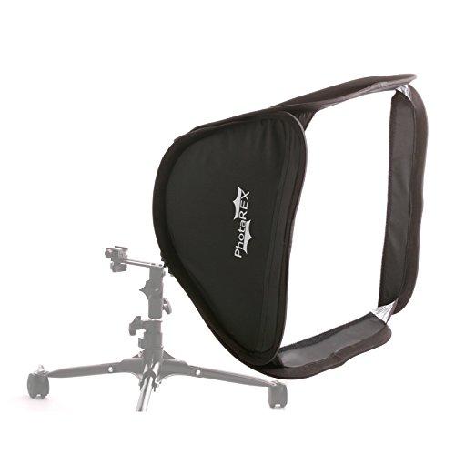PHOTAREX Easy Softbox 40×40cm mit Blitzhalter